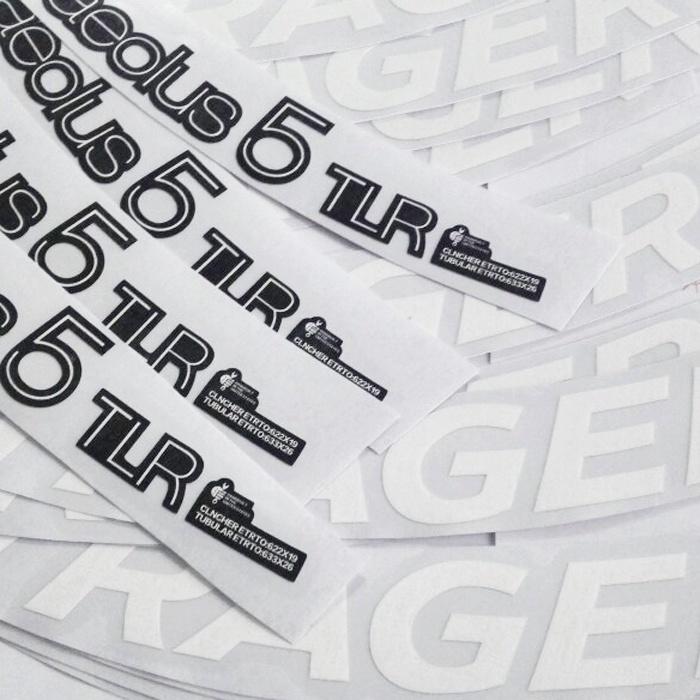 公路車棒槌哥BONTRAGER aeolus 5 TLR輪組碳刀圈貼紙 50刀圈使用
