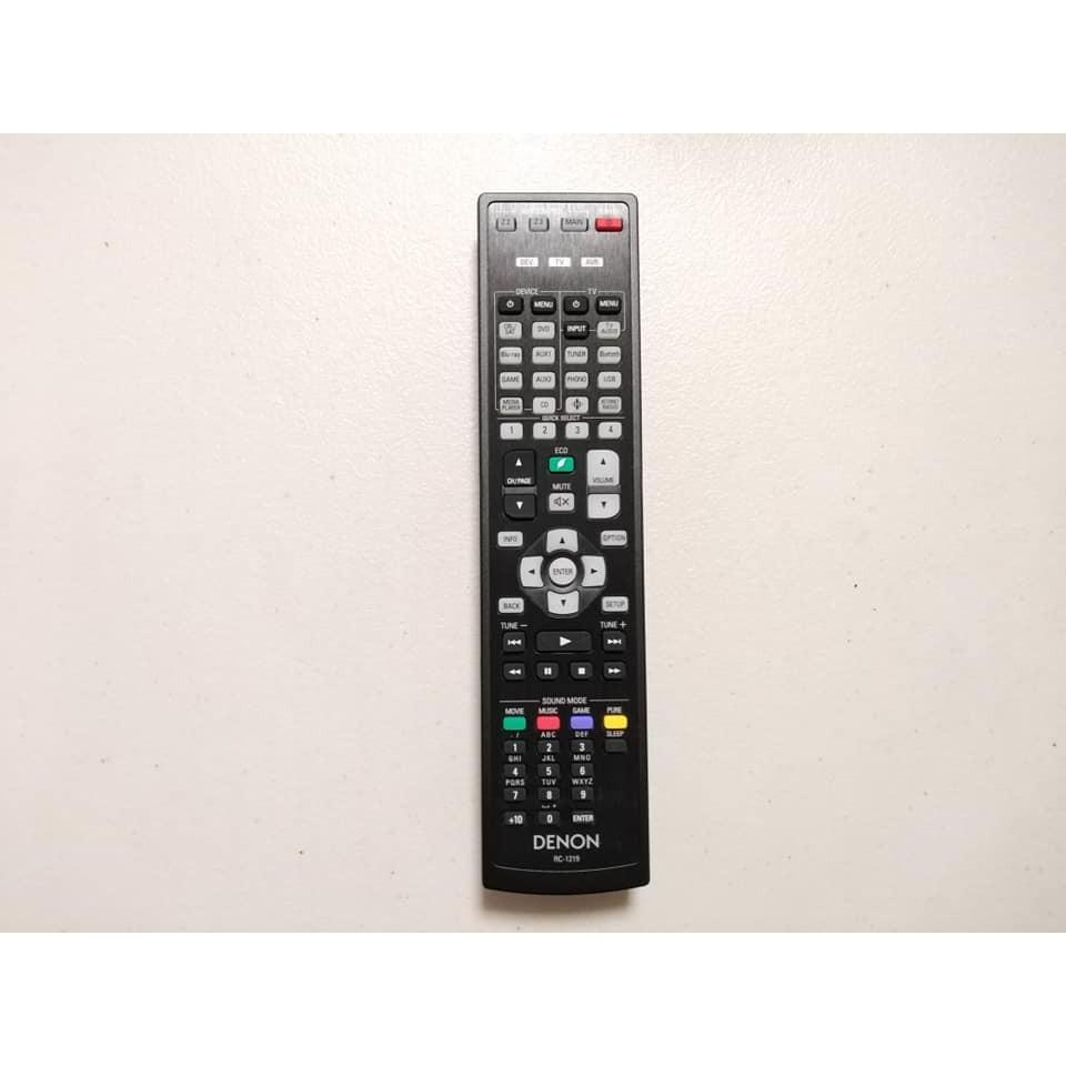 DENON RC-1219 遙控器 AVR-X4300H AVR-X4400H AVR-X4500H 用