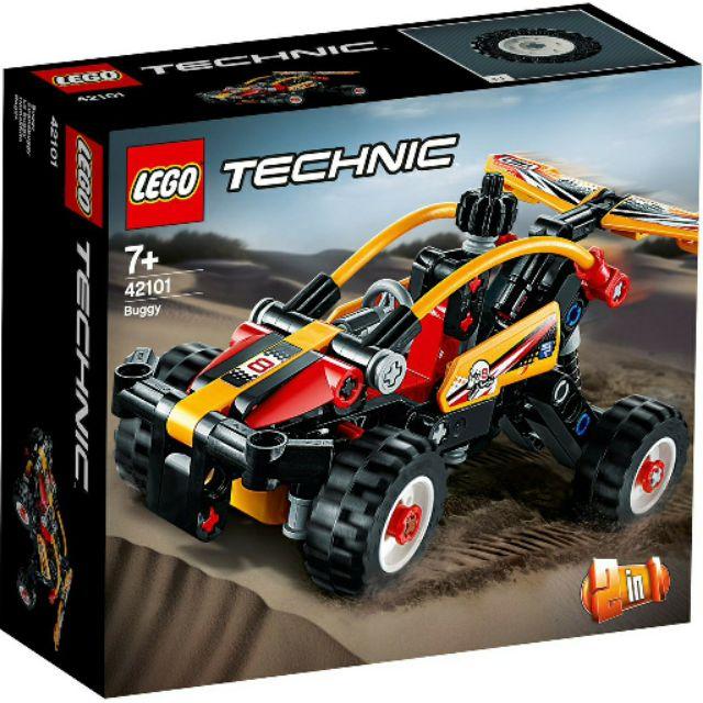【台中翔智積木】LEGO 樂高 Technic 科技系列 42101  沙灘越野車