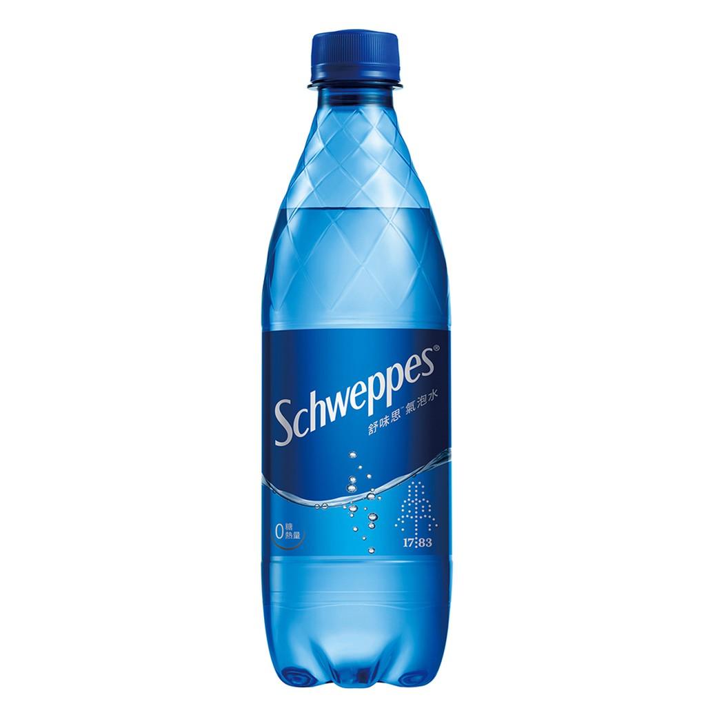 Schweppes舒味思氣泡水500ml【康是美】