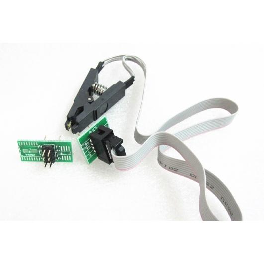 測試夾 SOP8腳BIOS夾子 寬窄體8腳通用夾 適配夾 燒錄芯片夾