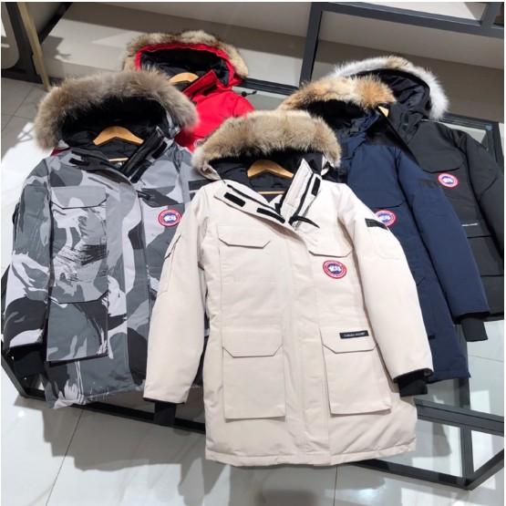 保真男女同款 Canada goose加拿大鵝 EXPEDITION PARKA遠征派克羽絨外套 毛領可拆 多色可選
