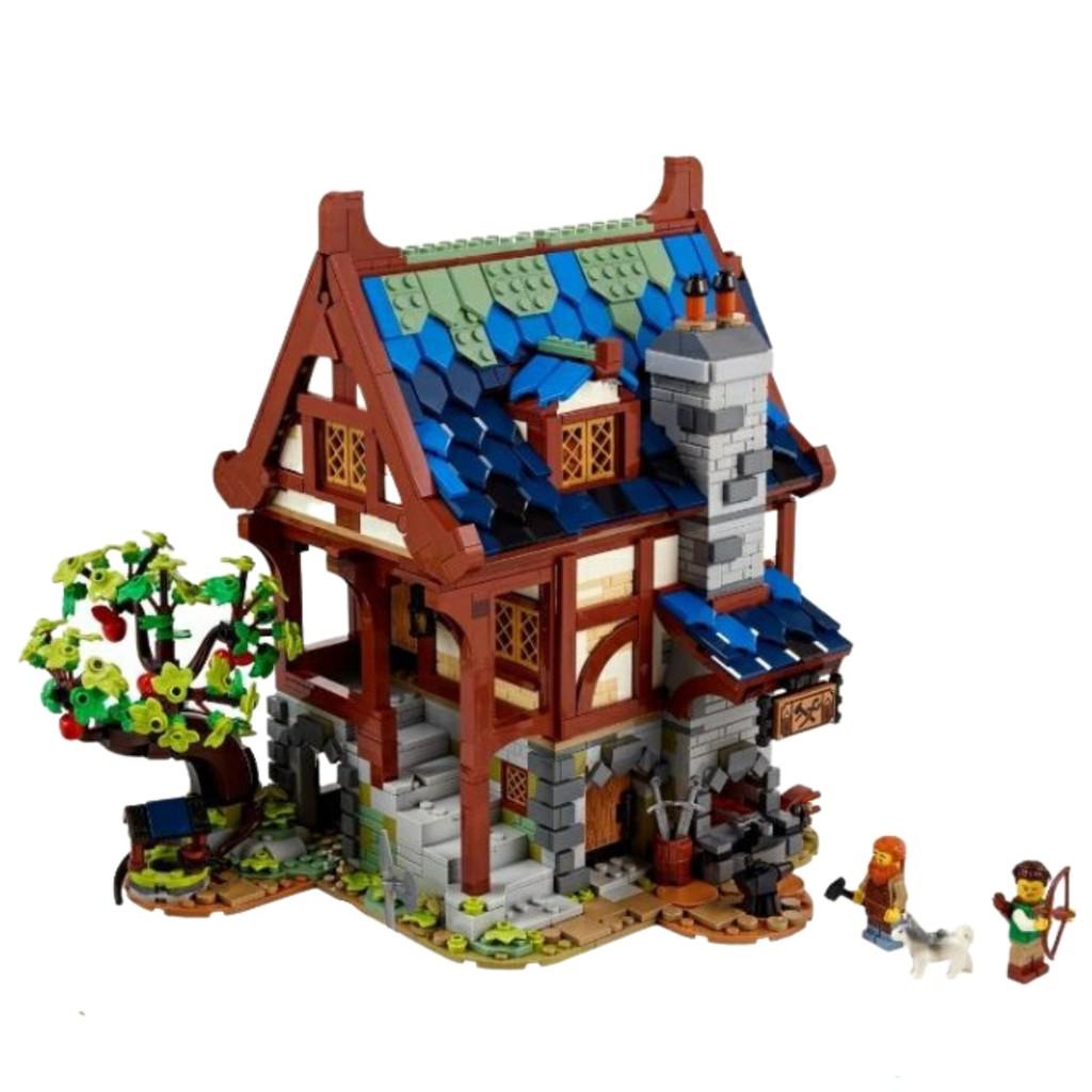 LEGO 樂高21325拆賣 單售鐵匠鋪、鐵匠&弓箭手