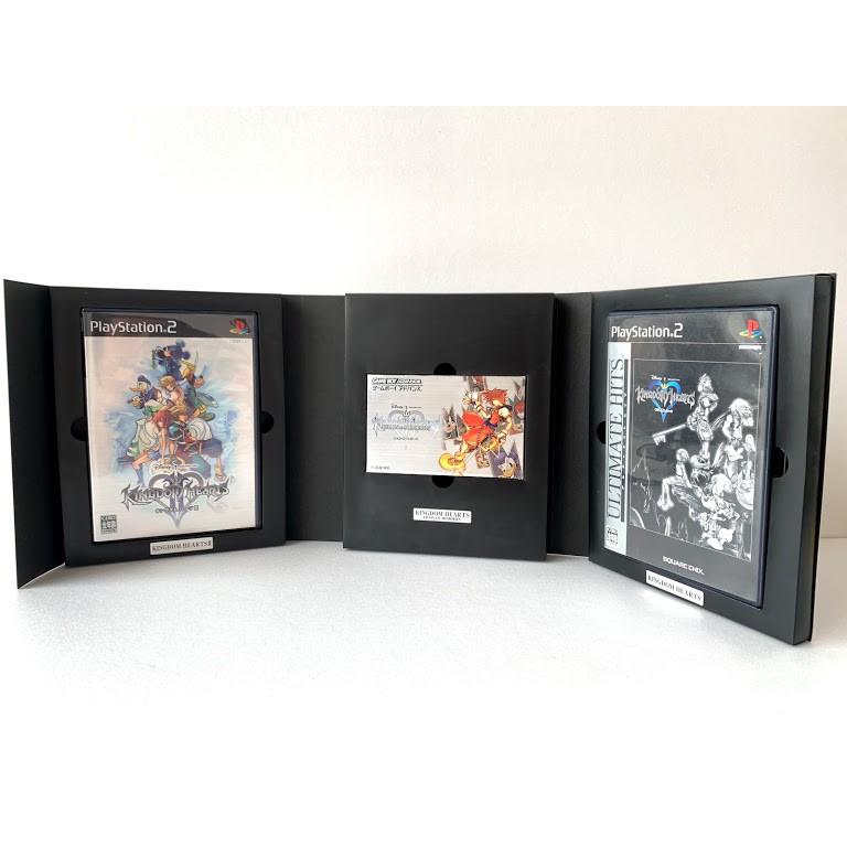 王國之心 Kingdom Hearts Trinity Master Pieces PS2 GBA  日本直送 zj50