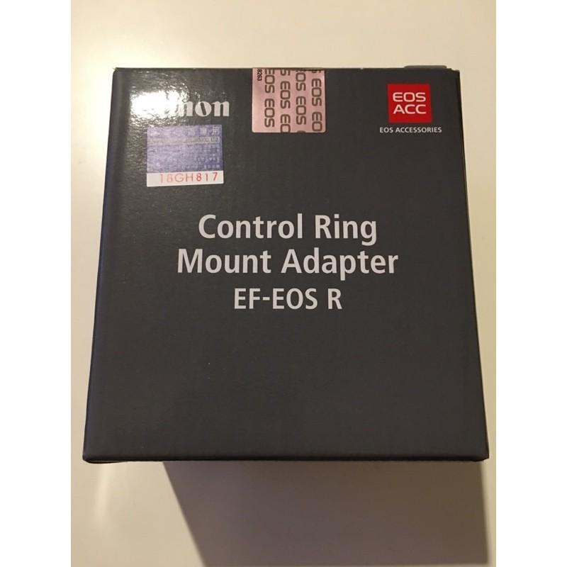 二手 佳能 Canon EOS R用 控制環 轉接環空盒 公司貨空盒 CONTROL RING ADAPTER