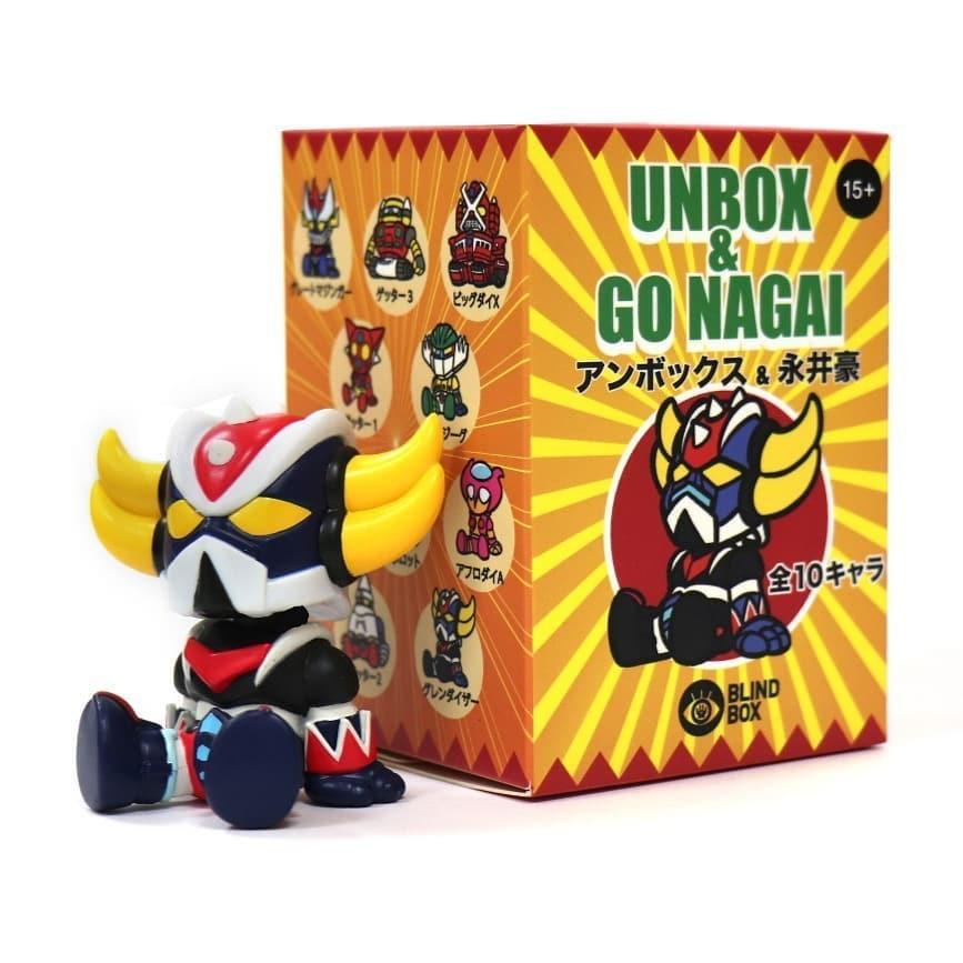 UNBOX x GO NAGAI 永井豪 無敵鐵金剛 單售