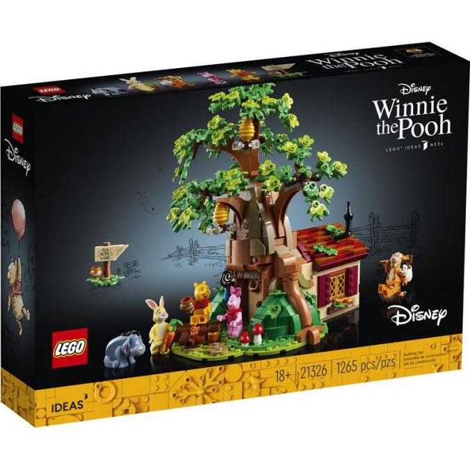 (樂高正品預購) Lego 21326 維尼熊 全新未拆封