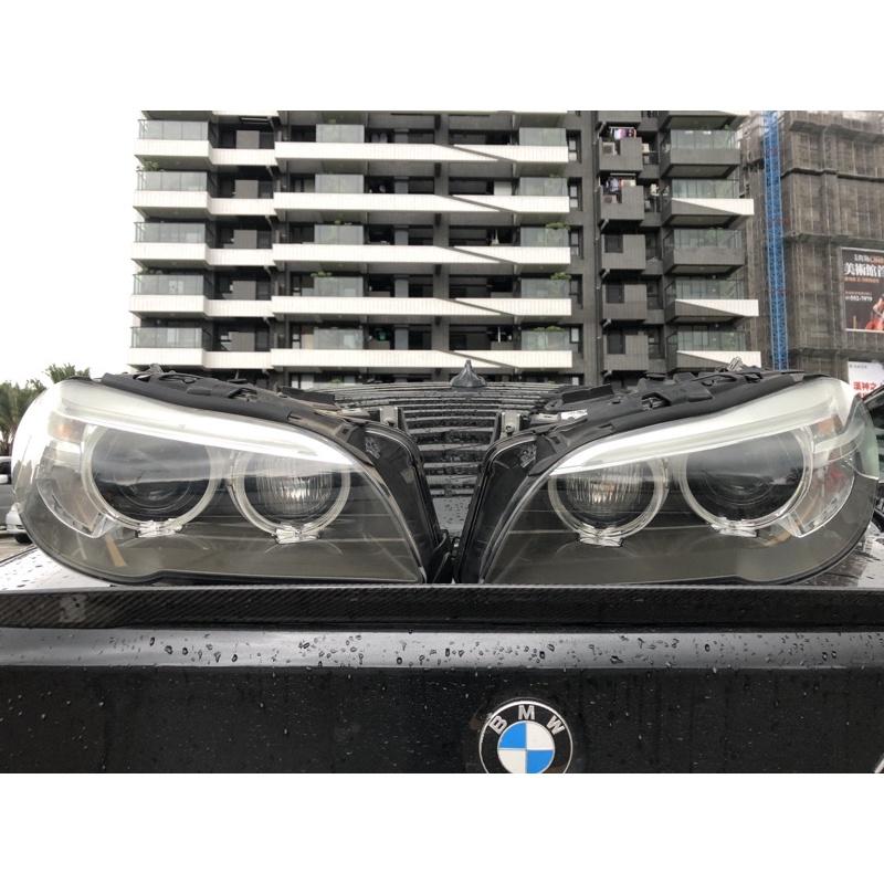 BMW F10-11 原廠後期大燈中古件一對
