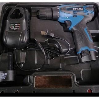 [一家五金行]含稅 ET330D充電電鑽 10.8V 雙鋰電池 台灣製造 充電起子機 充電式衝擊起子機 ETEAM 臺中市