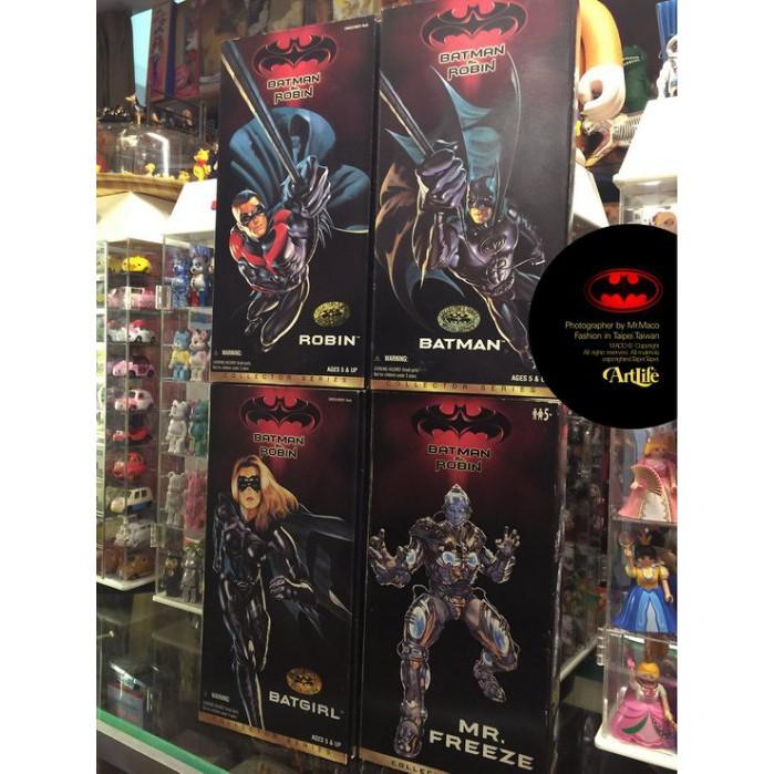 Artlife ㊁ KENNER DC BATMAN 蝙蝠俠 羅賓 急凍人 蝙蝠女 12吋公仔 美國絕版老玩具 4種