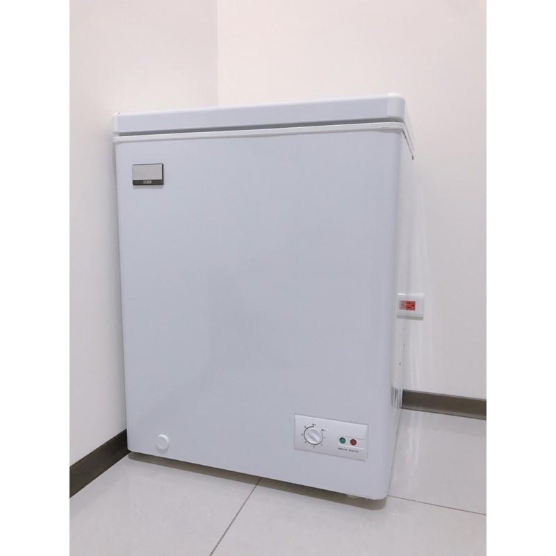 二手9成新 富及第冷凍櫃 100公升 上掀式冷凍櫃