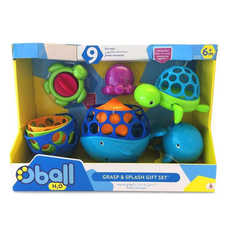 costco Oball 洞動洗澡玩具組 嬰兒幼兒玩水