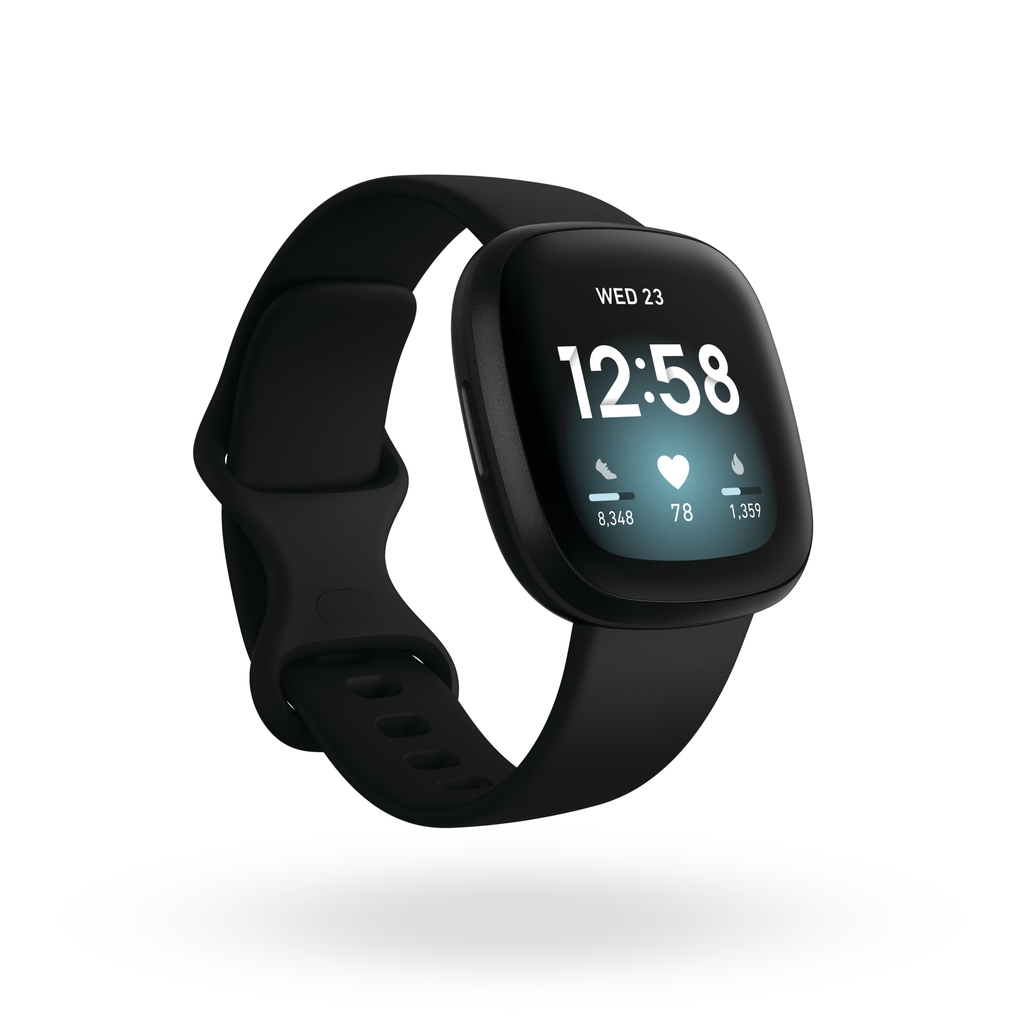 Fitbit Versa 3 一卡通運動智慧手錶 黑色