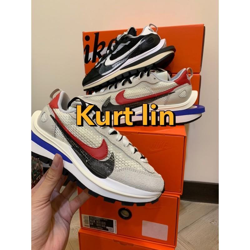 [SneakerNumb]Nike x Sacai Vaporwaffle 黑白 藍紅 現貨
