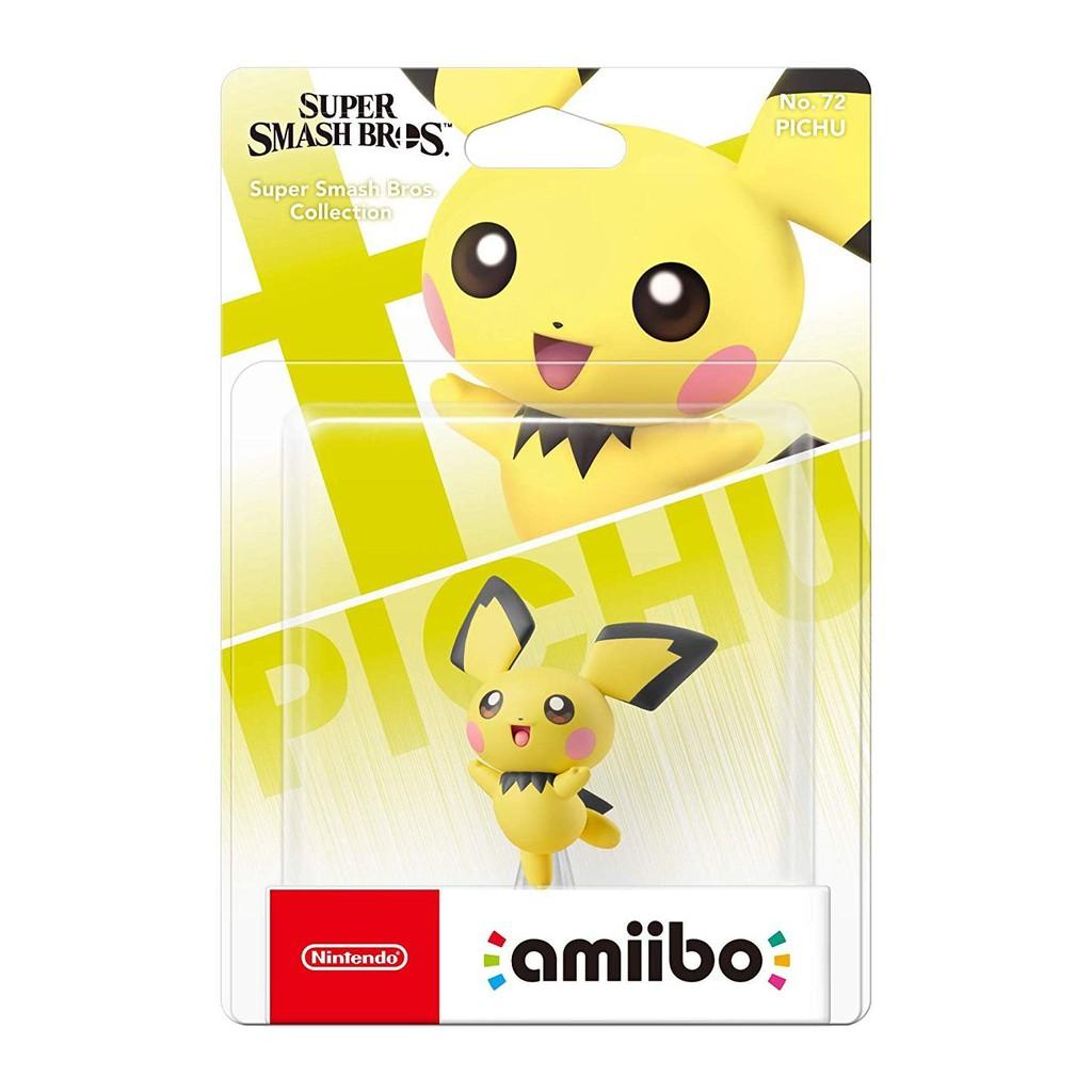 【特價優惠】 Nintendo Switch 任天堂明星大亂鬥 amiibo 皮丘 PICHU 【台中星光電玩】