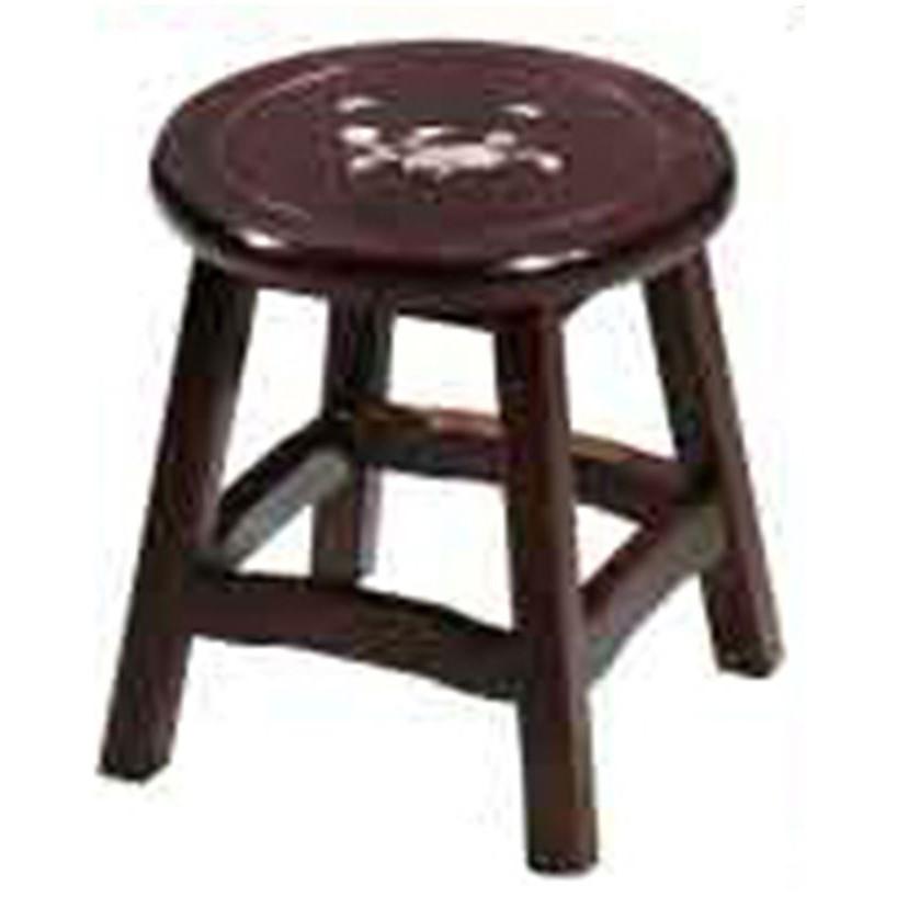 【DC739-10】 吉品鑲貝低圓椅 #HV-310