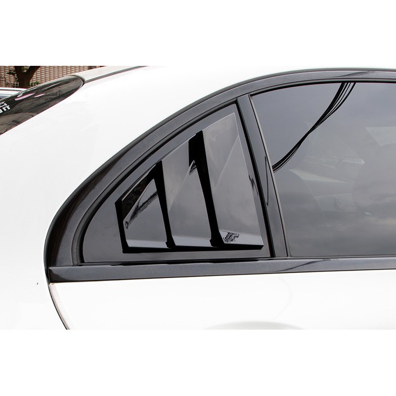 BENZ A系 C系 E系 CLA A180 C300 E300 後三角窗 飾板 三角窗 飾蓋 鯊魚腮 百葉窗 進氣孔