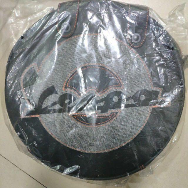 VESPA 原廠限量 輪型背包 黑灰