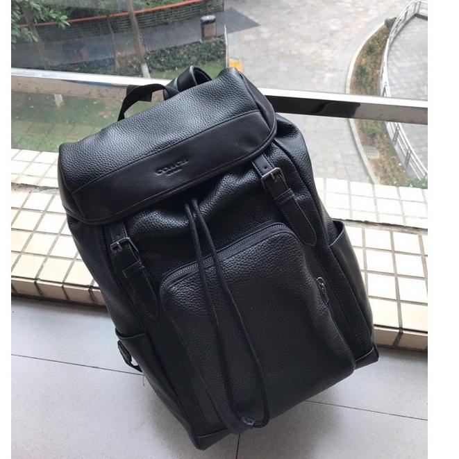 COACH 72311男士後揹包休閒時尚戶外登山包/大容量簡約型旅行包/雙肩背包電腦包