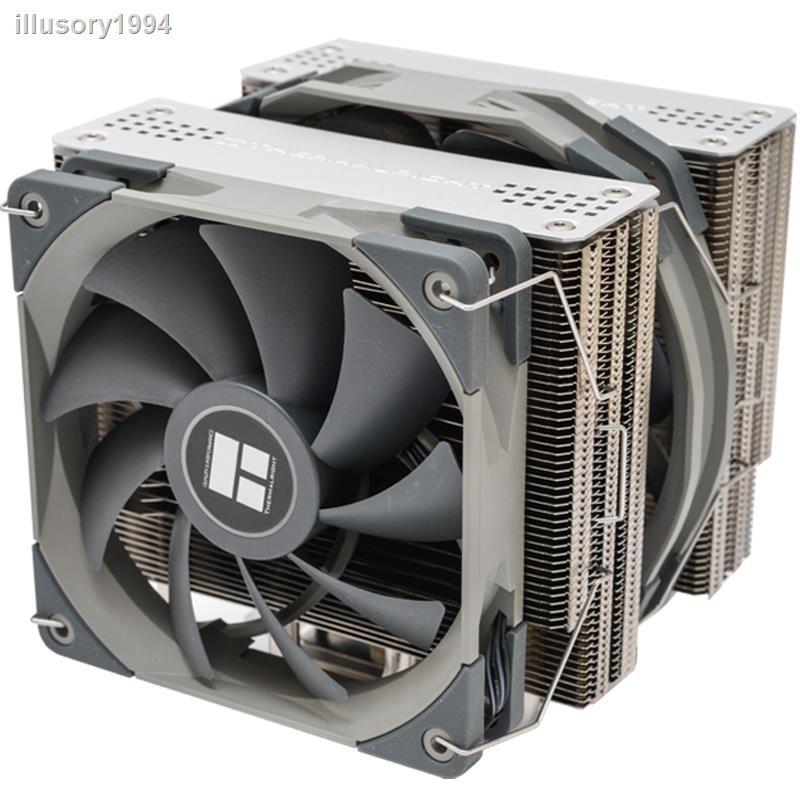 【現貨】利民霜靈 FS140 雙塔CPU散熱器am4靜音英特爾i7臺式機電腦CPU風扇