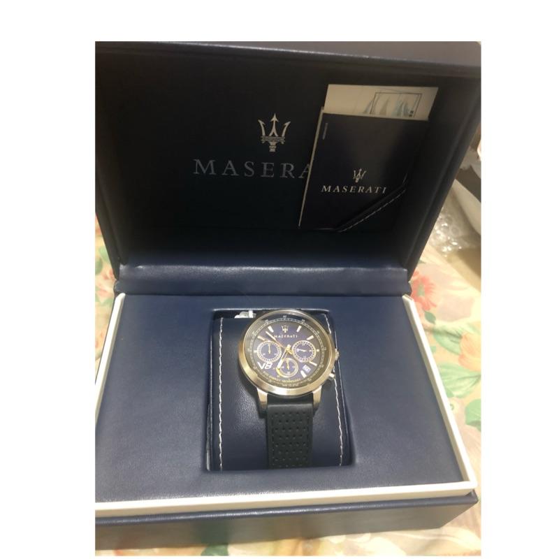 瑪莎拉蒂  GT系列  光動能錶「誠可議」