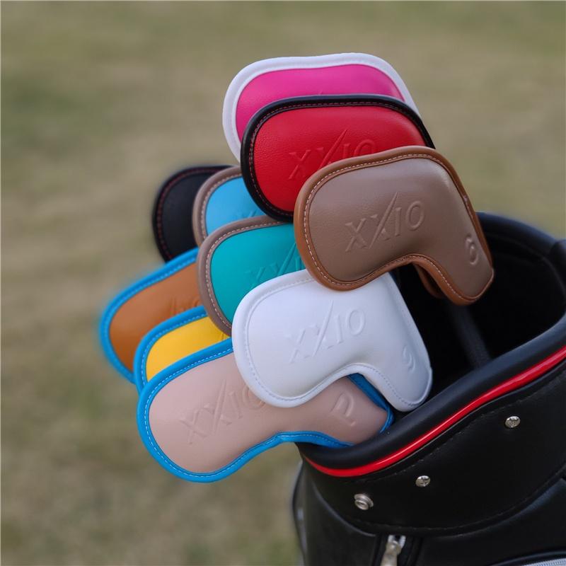 現貨 XXIO高爾夫球鐵桿套 桿頭套帽套 球桿保護套高爾夫球桿XX10球頭套