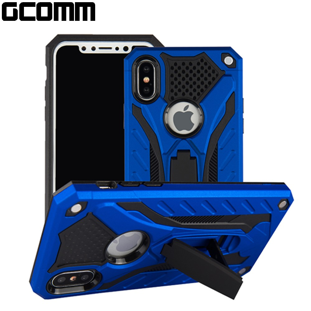GCOMM iPhone XR 防摔盔甲保護殼 紅盔甲 Solid Armour