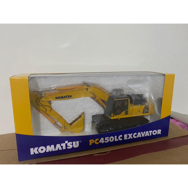 Komatsu pc450-8 1/50 挖土機 模型 pc450 小松 怪手