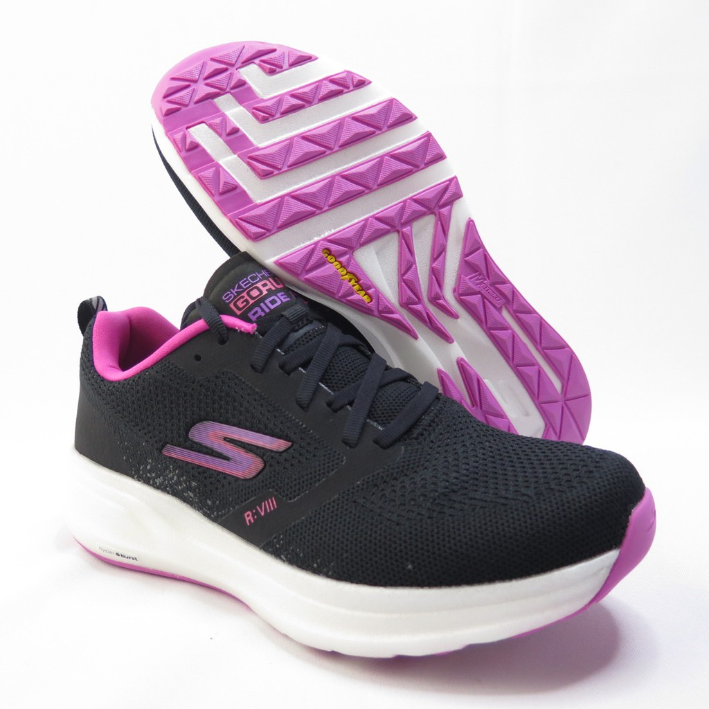 Skechers GO RUN RIDE 8 女款 慢跑鞋 15224BKPK 黑【iSport愛運動】