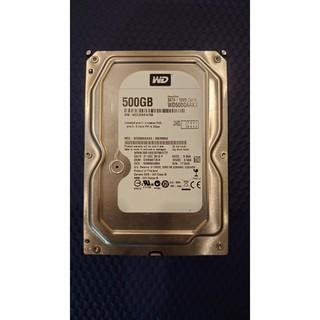 二手_WD 500GB 3.5吋黑標 內接/ 外接硬碟 臺北市