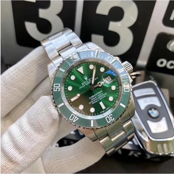 Rolex-勞力士 男士機械錶 116610LV 限量鬼王 黑水鬼 藍水鬼 綠水鬼機械錶 礦物質玻璃鏡面 男錶 男士腕錶
