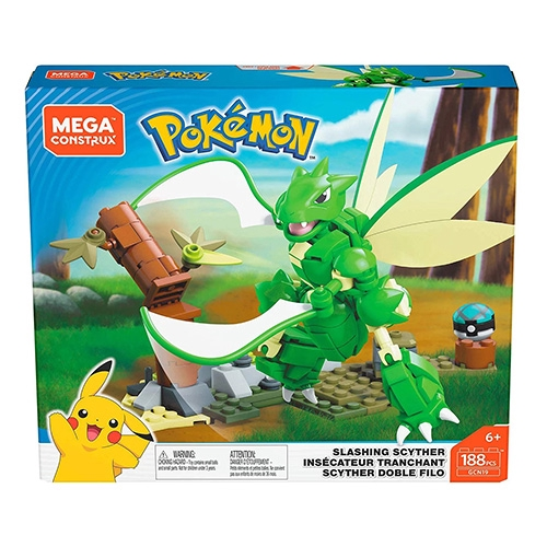Mega 寶可夢積木 美高創建寵物小精靈-飛天螳螂