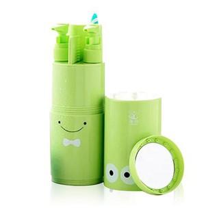 升級版超強8合1多功能環保旅行盥洗組附毛巾梳子 ObEV