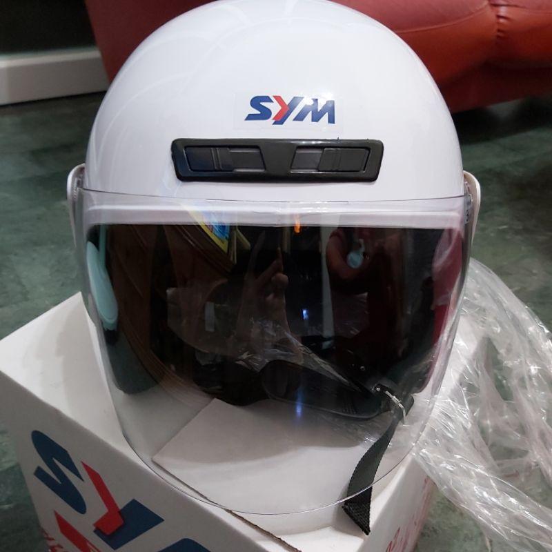 SYM原廠   半罩安全帽