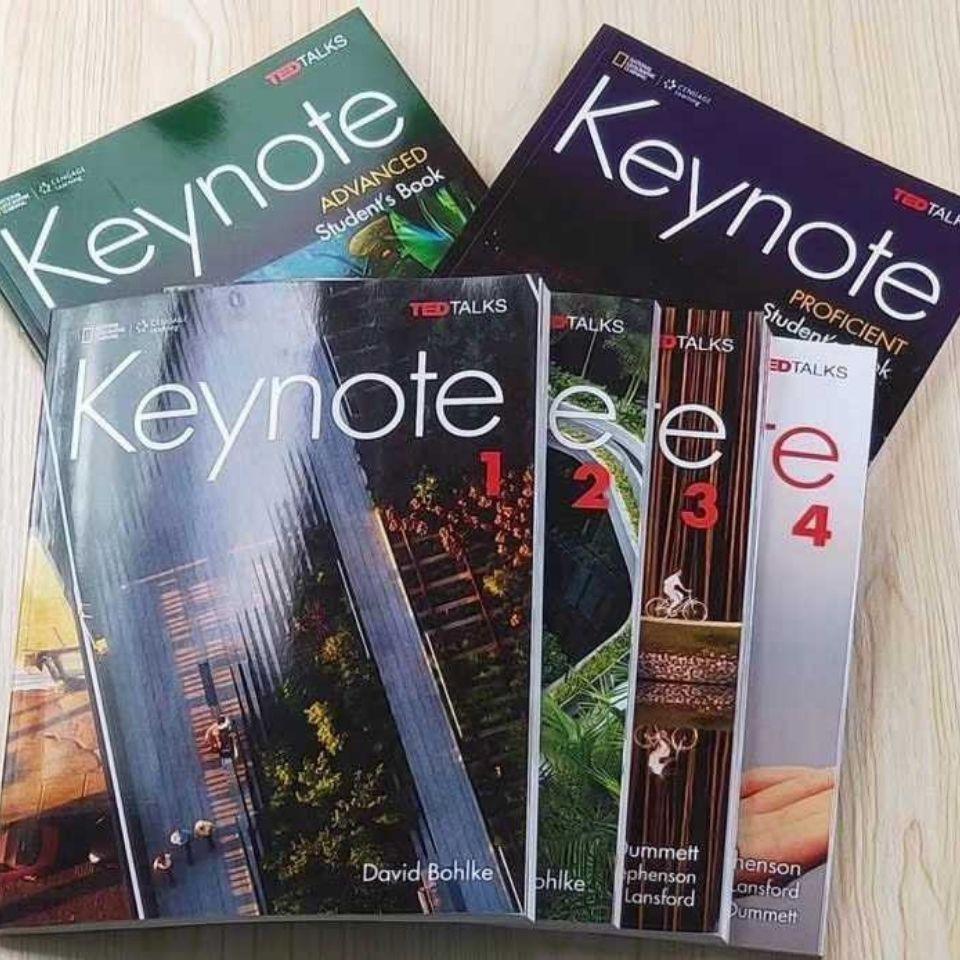 ⚡限時特賣⚡keynote 4 青少綜合教材 國家地理中學英語教材 keynote1-6青少年綜合教材 英文教材