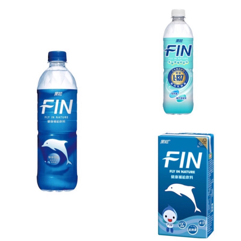 【黑松】FIN健康補給飲料/乳酸菌補給飲料 580ml/300ml (24入/箱)