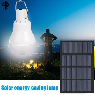 有貨の太陽能充電LED燈泡野營花園便攜式1.2Wled