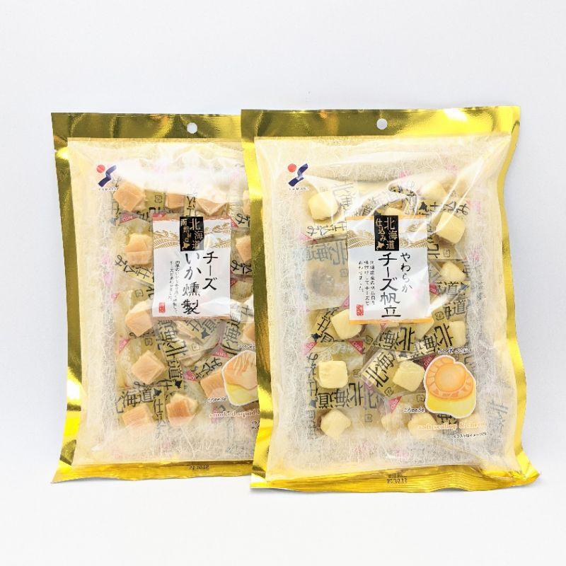 🔥現貨🔥 日本製 北海道 帆立貝 原味 過年 煙燻 起司 魷魚 日本零食 120g