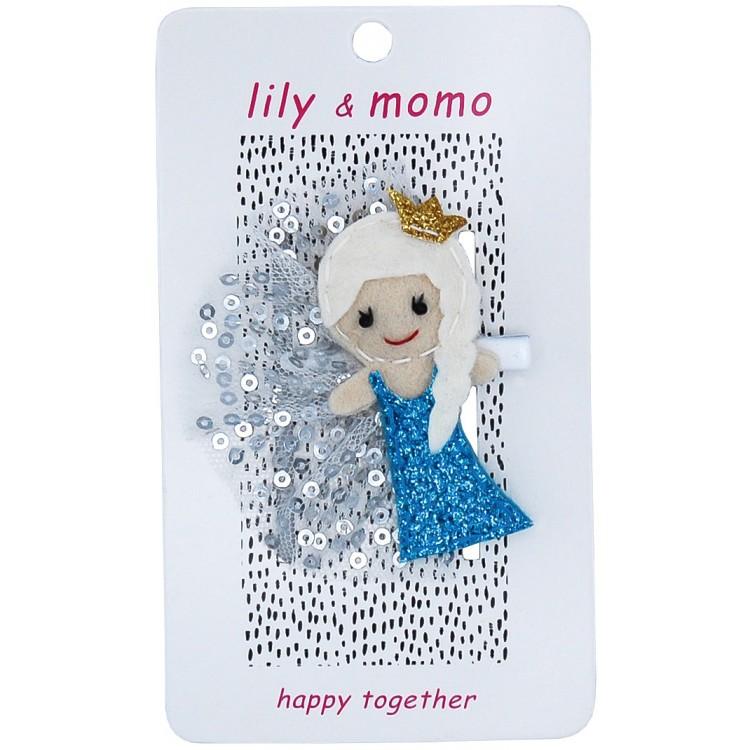【美國 Lily & Momo】手工童趣髮飾- Elsa公主 #HCA286
