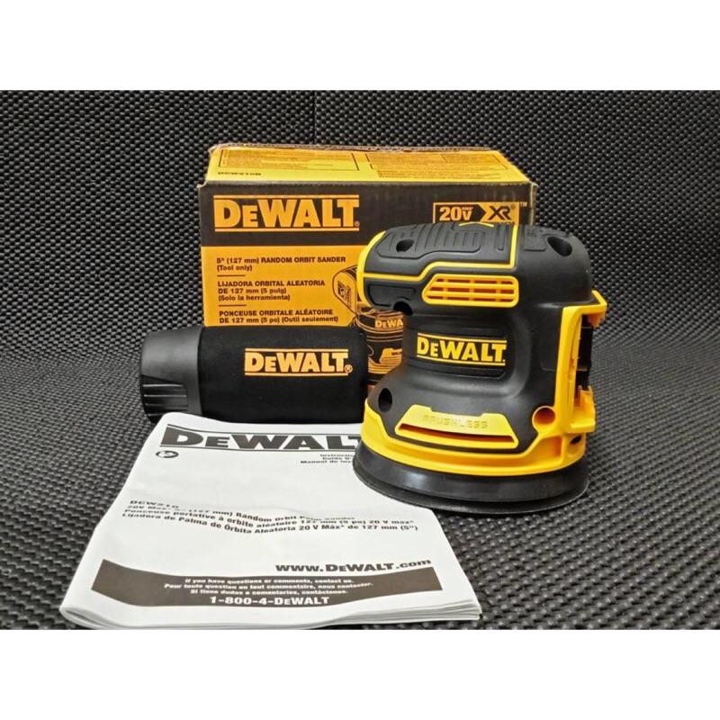 【全勝電動工具】全新 DEWALT 得偉DCW210可調速 打蠟機/砂紙機