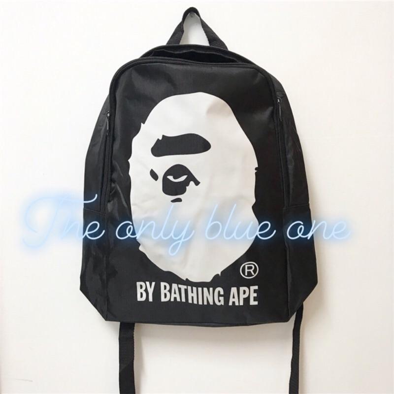 BAPE 後背包 猿人 背包