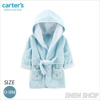 『Enen Shop』@Carters 可愛藍熊款連帽浴袍/ 浴巾/ 包巾 #126H780 0-9M 新生兒/ 彌月禮 新竹縣