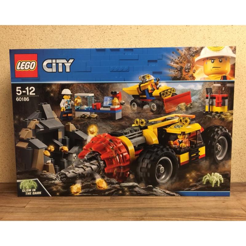 LEGO CITY 城市系列 60186 採礦重型鑽孔機