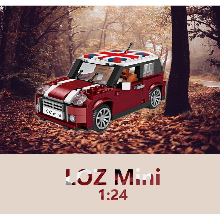 【全館滿399免運】☒✙✟LOZ 微型積木Mini Cooper