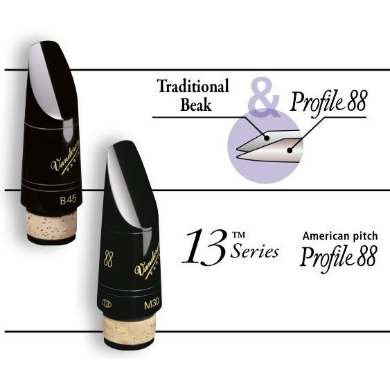 VANDOREN Bb Mouthpiece Traditional CM318 M30