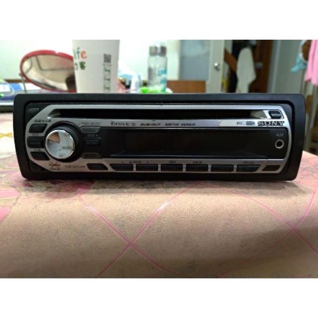 SONY  汽車音響主機 2008CDX-GT270S