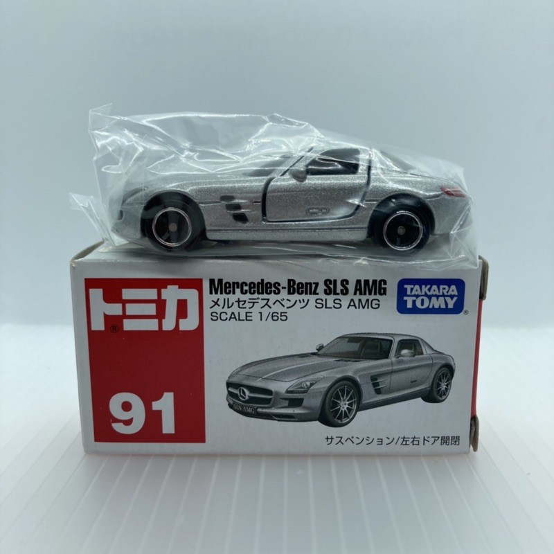 Tomica 多美 NO.91 Mercedes-Benz SLS AMG 賓士