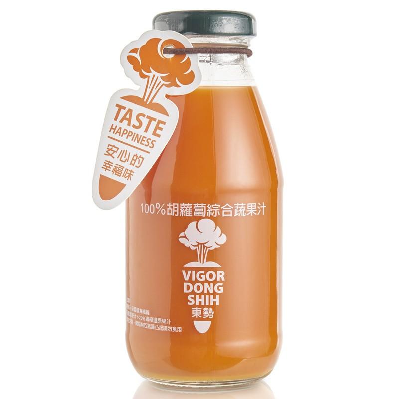 【VDS活力東勢】100%胡蘿蔔綜合蔬果汁290ml x 24瓶