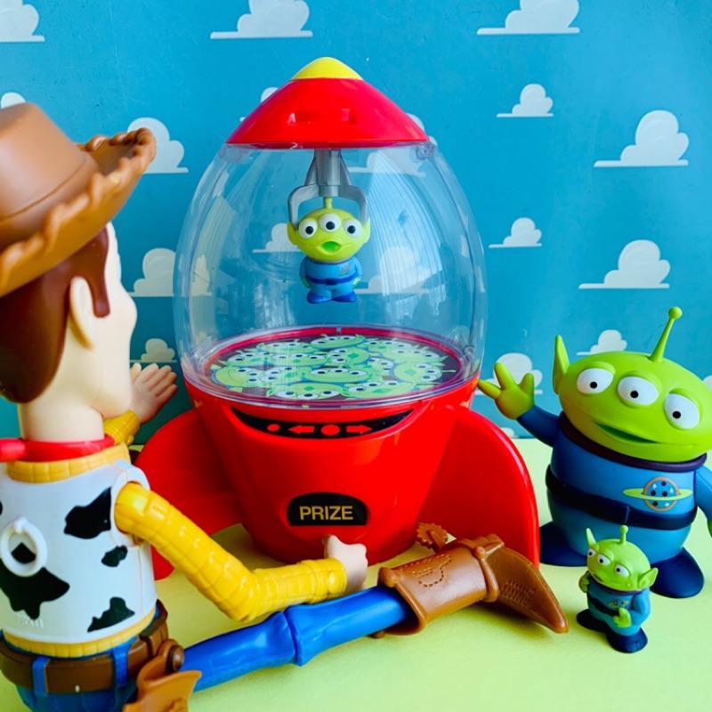 絕版 TDL 樂園限定 東京 迪士尼 火箭 糖果罐 三眼怪 爪子 玩具總動員 toystory 皮克斯 玩具