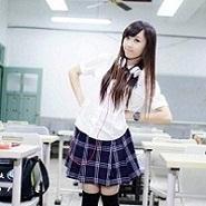 台中市 東山高中女生夏季制服一套(日式制服,全新品)